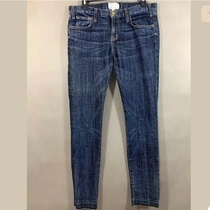 Current Elliot Skinny Jeans Dark Wash Size 28 x 31